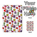 Doodle Pattern Playing Cards 54 Designs  Front - DiamondJ
