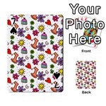 Doodle Pattern Playing Cards 54 Designs  Front - Spade7