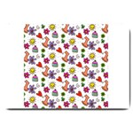 Doodle Pattern Large Doormat  30 x20 Door Mat - 1