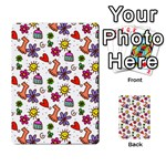 Doodle Pattern Multi-purpose Cards (Rectangle)  Front 4