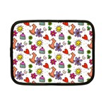 Doodle Pattern Netbook Case (Small)  Front