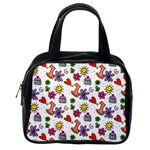 Doodle Pattern Classic Handbags (One Side) Front