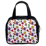 Doodle Pattern Classic Handbags (2 Sides) Front