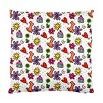 Doodle Pattern Standard Cushion Case (Two Sides) Front