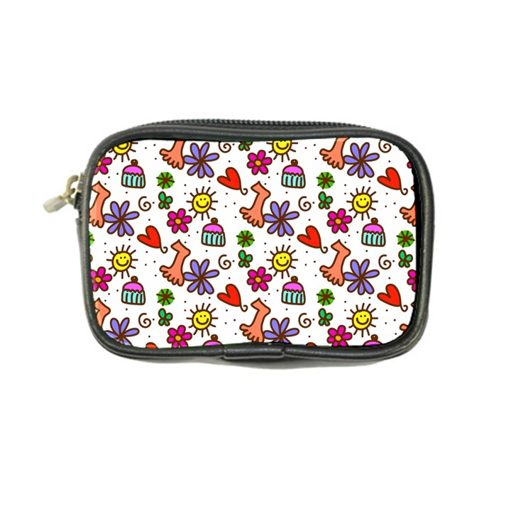 Doodle Pattern Coin Purse