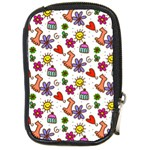 Doodle Pattern Compact Camera Cases Front