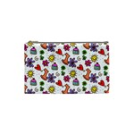 Doodle Pattern Cosmetic Bag (Small)  Front