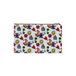 Doodle Pattern Cosmetic Bag (Small)  Back