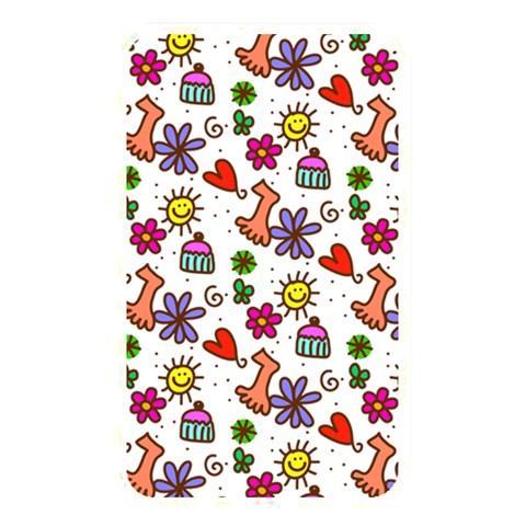 Doodle Pattern Memory Card Reader