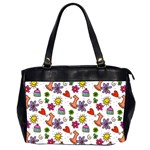 Doodle Pattern Office Handbags (2 Sides)  Front