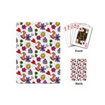 Doodle Pattern Playing Cards (Mini)  Back