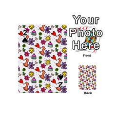 Doodle Pattern Playing Cards 54 (Mini)