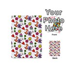 Doodle Pattern Playing Cards 54 (Mini)  Back