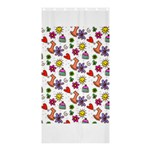 Doodle Pattern Shower Curtain 36  x 72  (Stall)  33.26 x66.24 Curtain