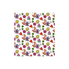 Doodle Pattern Shower Curtain 48  x 72  (Small)