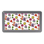 Doodle Pattern Memory Card Reader (Mini) Front