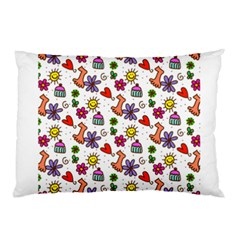 Doodle Pattern Pillow Case (Two Sides)