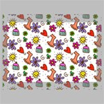 Doodle Pattern Deluxe Canvas 18  x 12   18  x 12  x 1.5  Stretched Canvas