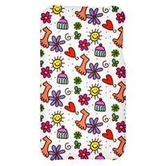 Doodle Pattern Apple iPhone 3G/3GS Hardshell Case