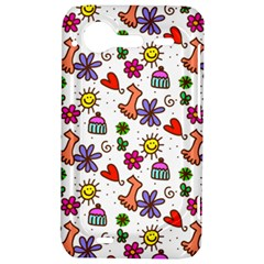 Doodle Pattern HTC Incredible S Hardshell Case