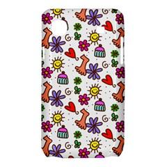 Doodle Pattern Samsung Galaxy SL i9003 Hardshell Case