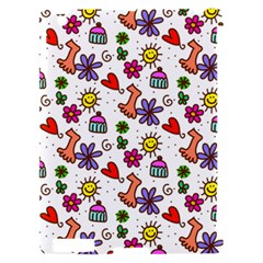 Doodle Pattern Apple iPad 2 Hardshell Case (Compatible with Smart Cover)