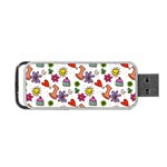 Doodle Pattern Portable USB Flash (Two Sides) Front