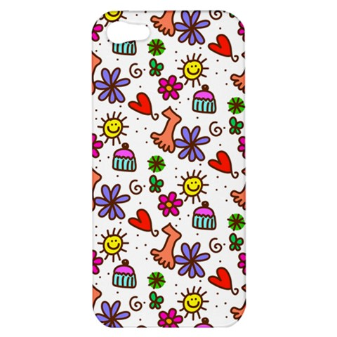 Doodle Pattern Apple iPhone 5 Hardshell Case