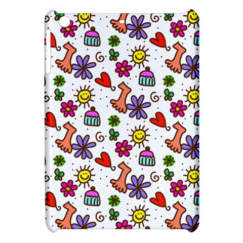 Doodle Pattern Apple iPad Mini Hardshell Case