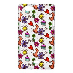 Doodle Pattern Sony Xperia Miro