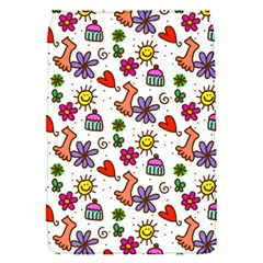 Doodle Pattern Flap Covers (S)