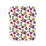 Doodle Pattern Apple iPad 2/3/4 Protective Soft Cases Front