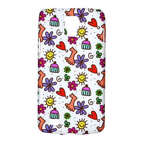 Doodle Pattern Galaxy S4 Active