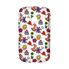 Doodle Pattern Samsung Galaxy S6310 Hardshell Case