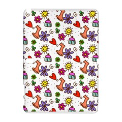 Doodle Pattern Samsung Galaxy Note 10.1 (P600) Hardshell Case