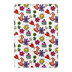 Doodle Pattern Samsung Galaxy Tab Pro 12.2 Hardshell Case