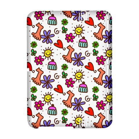 Doodle Pattern Amazon Kindle Fire (2012) Hardshell Case
