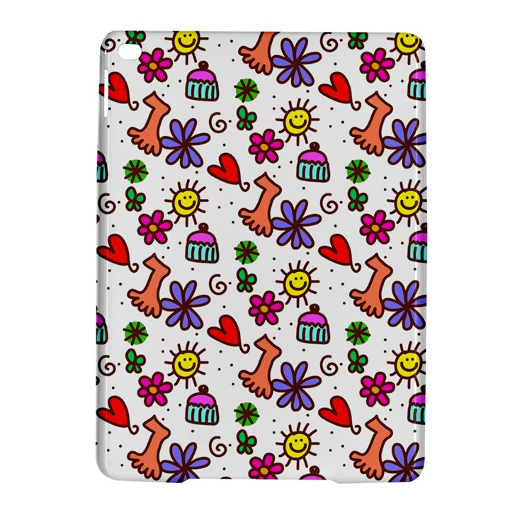 Doodle Pattern iPad Air 2 Hardshell Cases