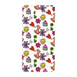 Doodle Pattern Samsung Galaxy Alpha Hardshell Back Case Front