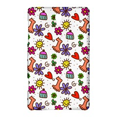Doodle Pattern Samsung Galaxy Tab S (8.4 ) Hardshell Case