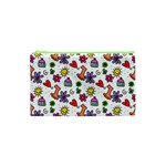 Doodle Pattern Cosmetic Bag (XS) Front