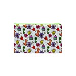 Doodle Pattern Cosmetic Bag (XS) Back