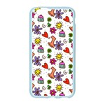 Doodle Pattern Apple Seamless iPhone 6/6S Case (Color) Front