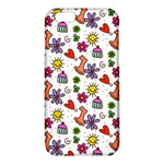 Doodle Pattern iPhone 6/6S TPU Case Front