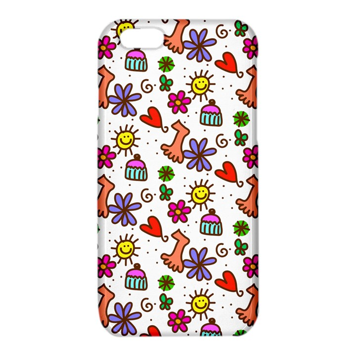 Doodle Pattern iPhone 6/6S TPU Case