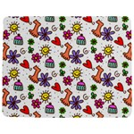 Doodle Pattern Jigsaw Puzzle Photo Stand (Rectangular) Front