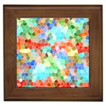 Colorful Mosaic  Framed Tiles Front