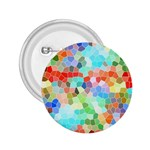Colorful Mosaic  2.25  Buttons Front