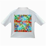 Colorful Mosaic  Infant/Toddler T-Shirts Back