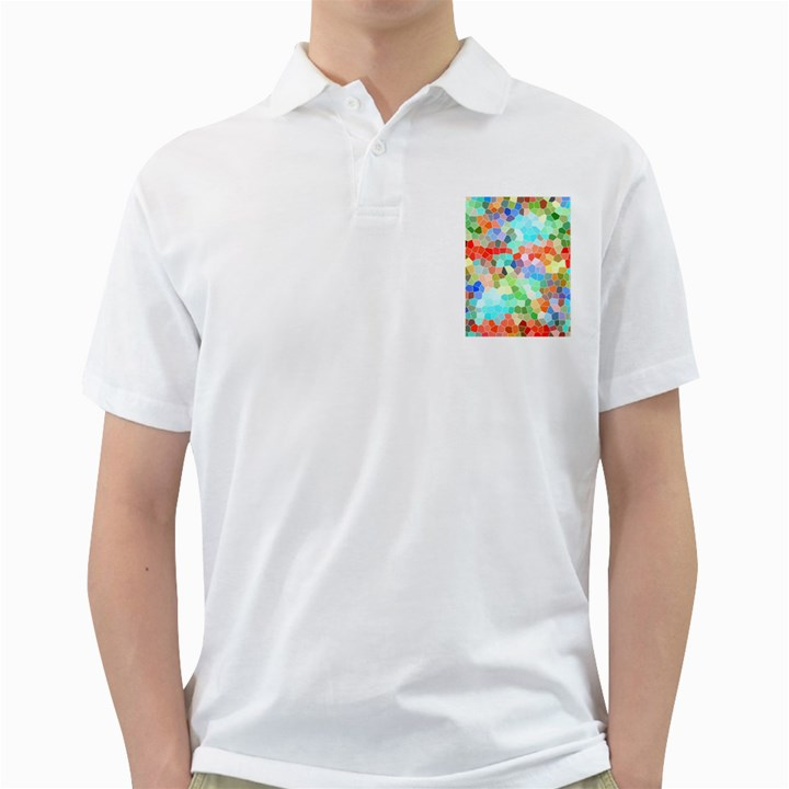 Colorful Mosaic  Golf Shirts